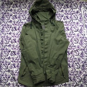 Cute small green army jacket